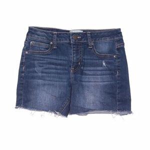 RSQ ripped denim shorts